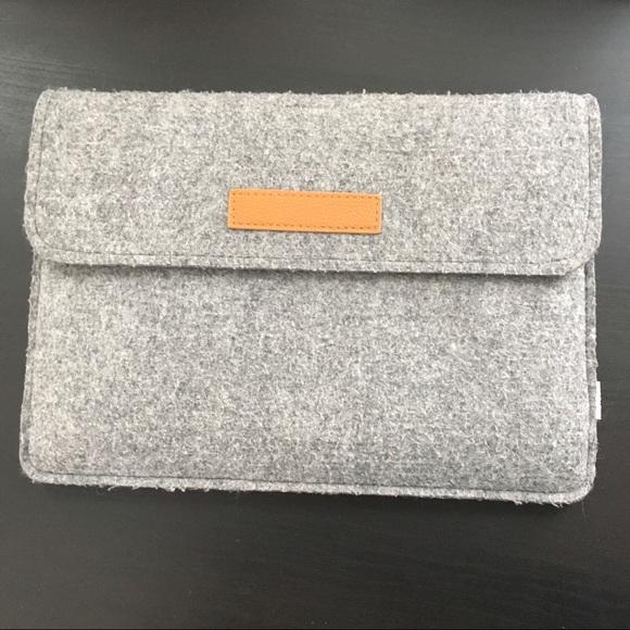 """Inateck Handbags - Laptop Case - Felt - 12"""" x 8.5"""""""